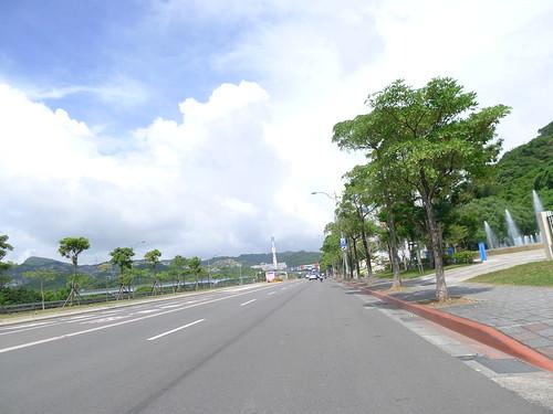 木柵動物園前的大馬路