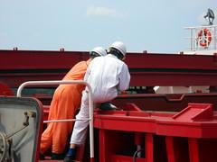 DSCN0622 (cjb300zx) Tags: ship ships crew mississippiriver bulkcarrier shipscrew