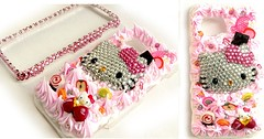 hello kitty icecreams (.,. Fashion my phone .,. Qatar) Tags: hello black ice fashion design berry crystals hand phone blackberry handmade hellokitty cream cell kitty style made icecream swarovski custom qr doha qatar creams iphone icecreams  saler     qatari