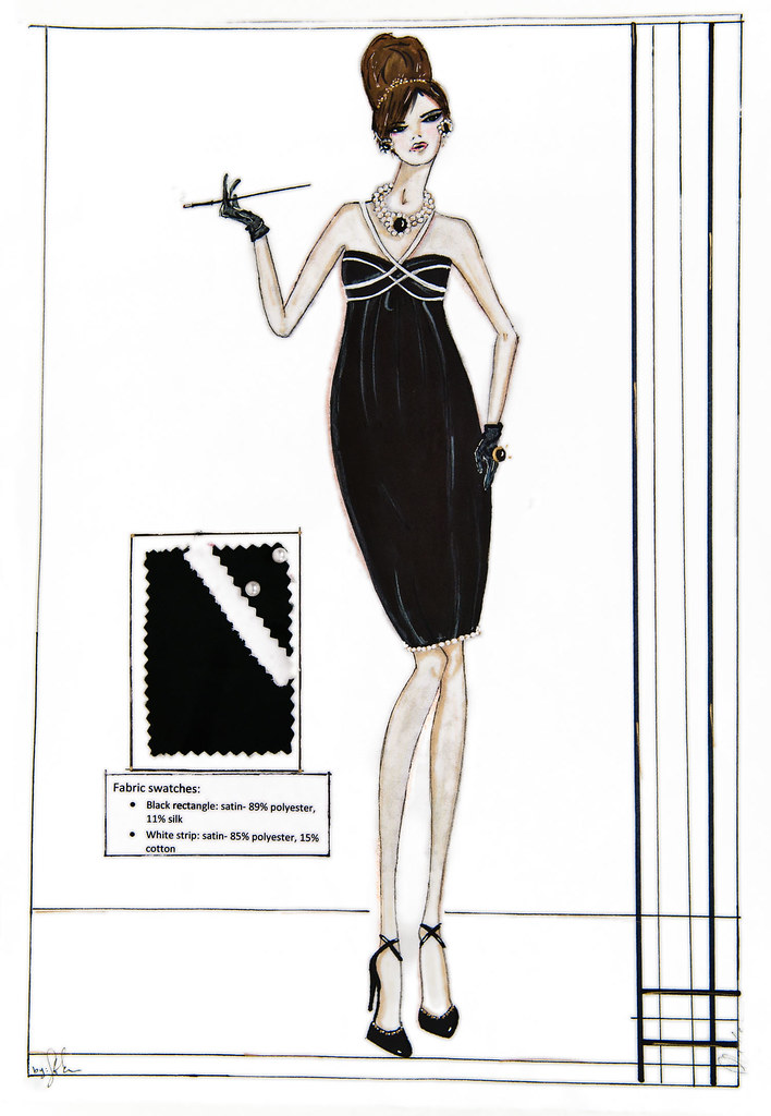 Technical Sketching for Fashion Design College
