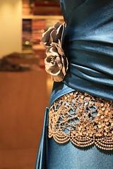 details (Marlene Murphy) Tags: blue roses mannequin shop beads robe silk malta cloth trimming trim dummy soie tailor valletta lavalletta tailorsdummy drapers passementerie fabricroses bluecloth drapier drapersshop
