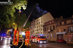 Dachstuhlbrand Rheinallee Mainz 08.09.11