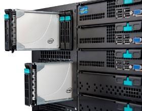 Intel SSD 710 series server