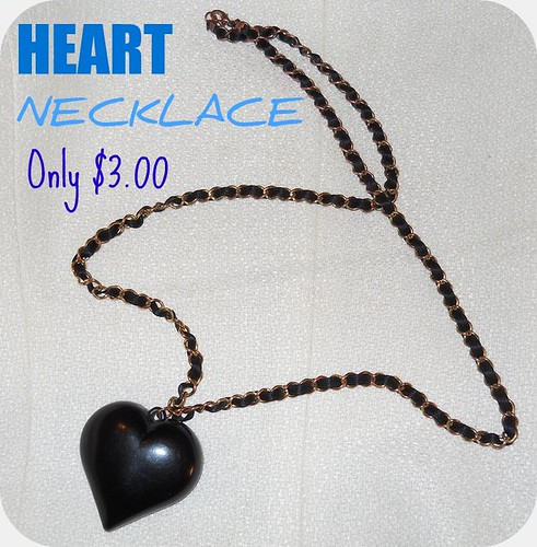 Heart Necklace $3