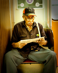 Mr. Raj (Nghi La) Tags: life friends portrait people toronto subway nikon friendship humanity ttc strangers sharing conversation stories connection d700
