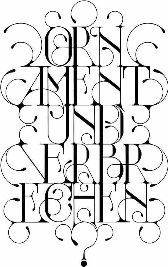 tipografía e ilustraciones