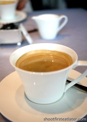Tosca at the Ritz-Carlton Hong Kong- Coffee (Shoot First, Eat Later) Tags: hongkong hotel italianfood tallesthotel