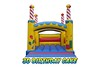 3D Birthday Cake Bouncy Castle