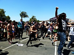Vans Warped Tour 2011 (riotlainie) Tags: photography sandiego warpedtour adaytoremember bigdandthekidstable lessthanjake aas againstme syg gymclassheroes vanswarpedtour ltj abr 2011 thewonderyears wcar thedevilwearsprada gch adtr paramore augustburnsred familyforce5 setyourgoals larryandhisflask theexpendables veara tdwp wecameasromans windsofplague abandonallships riotlainie