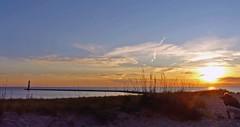 "Said the Leaning Lighthouse to the photographer, ""Get me with your best shot!"" (jimflix!) Tags: sunset sun lighthouse lake water bay harbor pier michigan lakemichigan panasonic serene tranquil betsie breakwater frankfort elberta serenitynow benzie m22 m115 fz18 scenicsnotjustlandscapes frankfortharbor jimflix llmsmifrankfort"