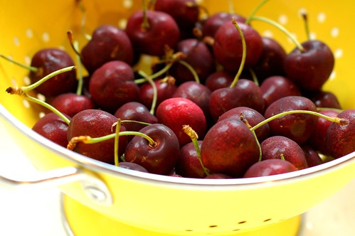 Cherries by Eve Fox, Garden of Eating blog, copyright 2011