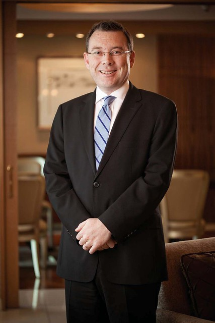 Richard Simmons, Hyatt Hotel and Casino Manila's New General Manager