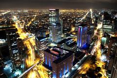Nocturnal Bogota - Bogota Urbe Nocturna (CAUT) Tags: longexposure building tower southamerica night noche nikon colombia bogota torre edificio ciudad nocturna kolumbien urbe ciy largaexposición 2011 d90 américadelsur metropoli caut torrecolpatria nikond90 colpatriatower urbenocturna bogotaurbenocturna
