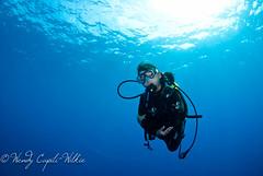 me, blue corner! (wendymd) Tags: blue underwater wideangle scuba diving tokina 1017mm nikond80