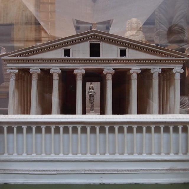 市政廳模型內的豐饒女神像