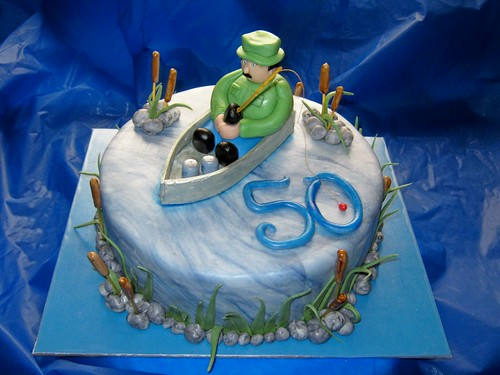 Fishing Cake by Cake Maniac