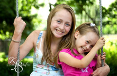 Sisterly Love (Kidzmom2009) Tags: family girls friends summer youth happy freedom hugging joy swing cutesmiling kidzmom2009 gettyimageswants kfsphotography