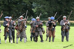 Here They come Lads! (day_sargent) Tags: history scotland battle battlefield reenactment selkirk livinghistory warfare scottishborders sealedknot philiphaugh