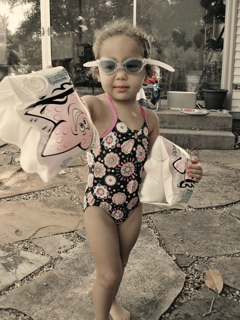 Aubrianna in Her Goggles