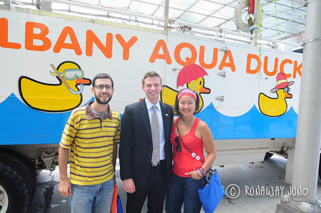 Aqua duck tour in Albany