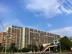 Apartment (mxmstryo) Tags: tokyo toyosu 2011  iphone4
