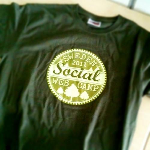 Snygga t-shirten