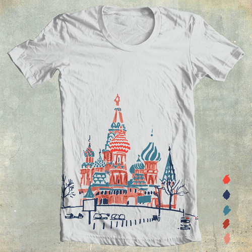 A cake of Moscow