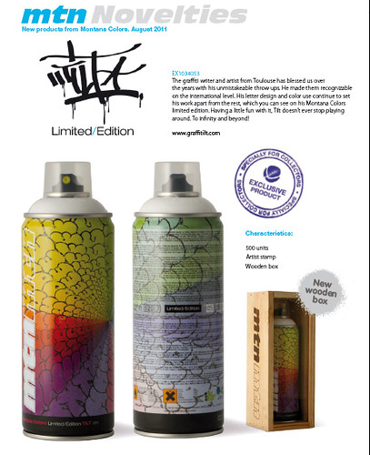 tilt limited edition mtn MONTANA cans