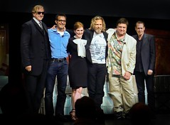 if you will it, it is no dream (JKnig) Tags: reunion actors thebiglebowski lebowskifest stevebuscemi johngoodman hammersteinballroom jeffbridges juliannemoore manhattancenter tboneburnett johnturturro lebowskifestnewyork lebowskifestreunion blurayreleaseparty amazingamazingnightforachieverseverywhere thedudeabidesthisiswhathappens whenyoufeedastrangerscrambledeggs