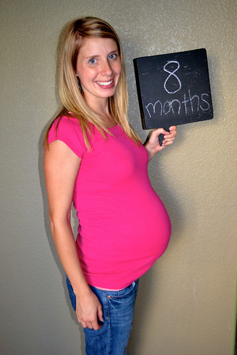Life with the Goodlins: Update & 8 Months Pregnant!