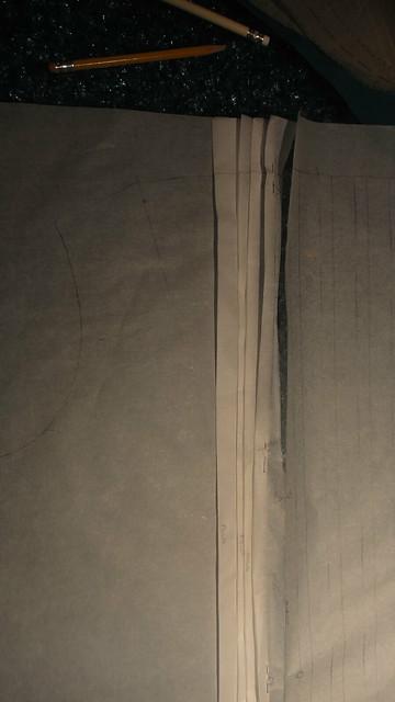Vogue 1255 pattern folding