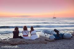 Sunset 4 three (Stoper) Tags: sunset sea espaa beach mar spain playa ibiza puestadesol eivissa