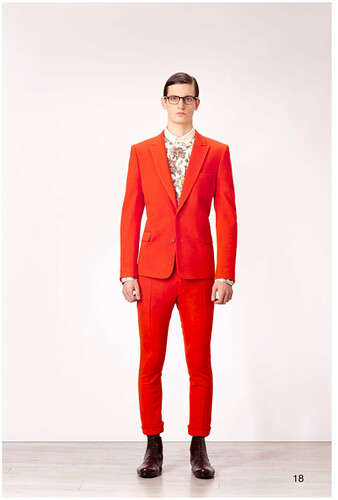 H.PR red suit