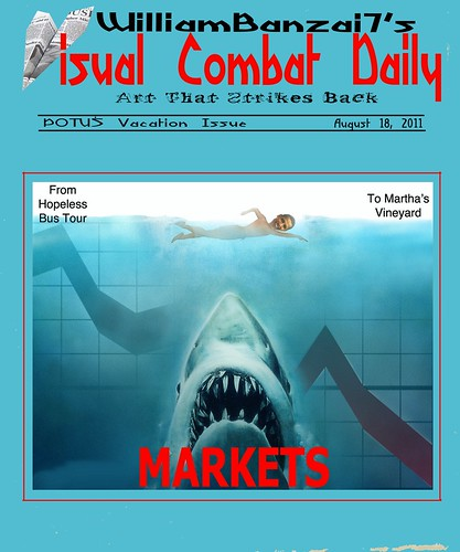 VISUAL COMBAT DAILY (ISSUE 8: POTUS ON VACATION) by Colonel Flick
