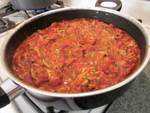Vegetable Tomato Sauce