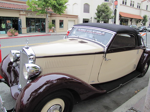 1937 Mercedes-Benz 230 A Cabriolet