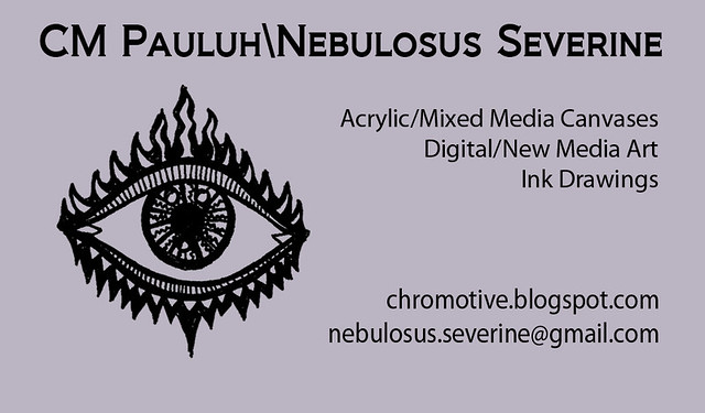 Business card design, Version 1.1, Reverse