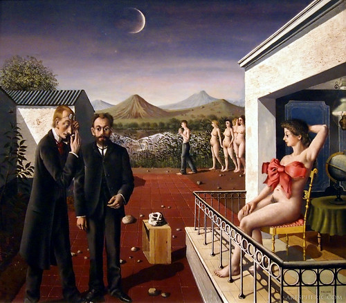 Paul Delvaux: Phases of the Moon (1939) by artspheric