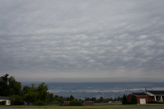 Cloud Line (AnthonyGeo) Tags: morning sky rain weather fog clouds front storms