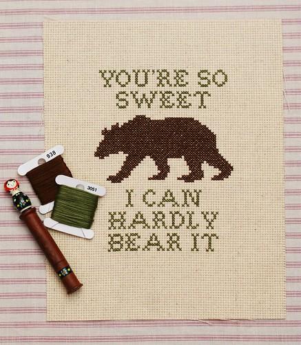hardly bear