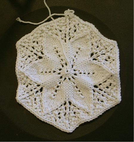 In progress, 2011-08-20: one hexagon