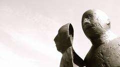 metamorphosis (visuanne) Tags: sculpture brunnen rostock neuermarkt proteus mecklenburgvorpommern waldemarotto möwenbrunnen