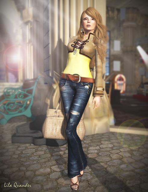 >TRUTH< Erika - honey & The Secret Store - Eglantine - Beige Suede