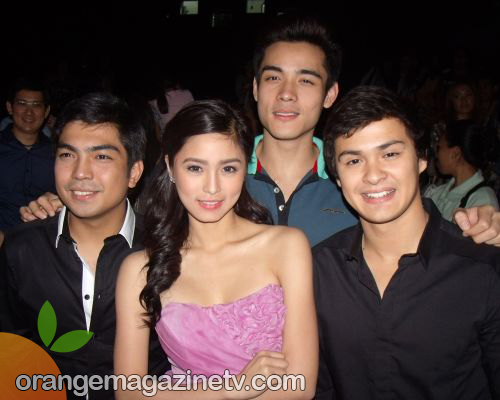 Kim Chiu with her Leading Men