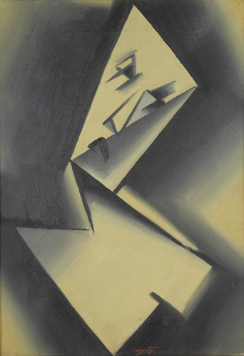 Beklemmung (anxiety) - Josef Capek (1915)