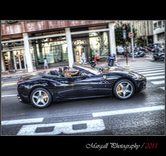Ferrari in Montecarlo - HDR (Margall photography) Tags: motion car photography fast ferrari montecarlo monaco marco panning luxury hdr galletto margall