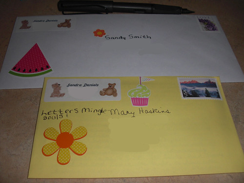 Letters Sent To