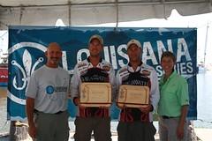 3rd Place Team Wilson (LDWF - Office of Fisheries) Tags: fish fishing louisiana tournament tagging redfish portfourchon tagandrelease ldwf moransmarina