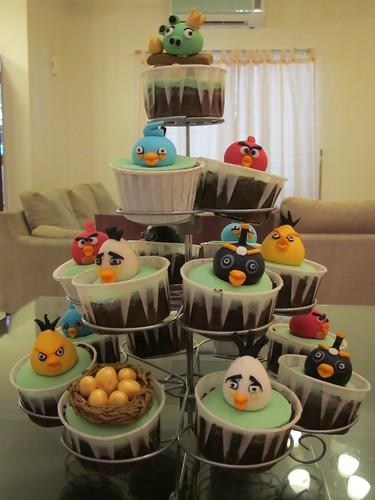 Angry Birds cupcake set