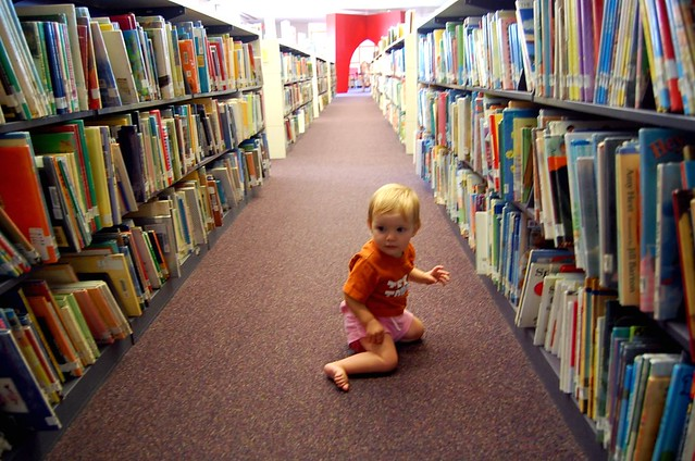 library baby